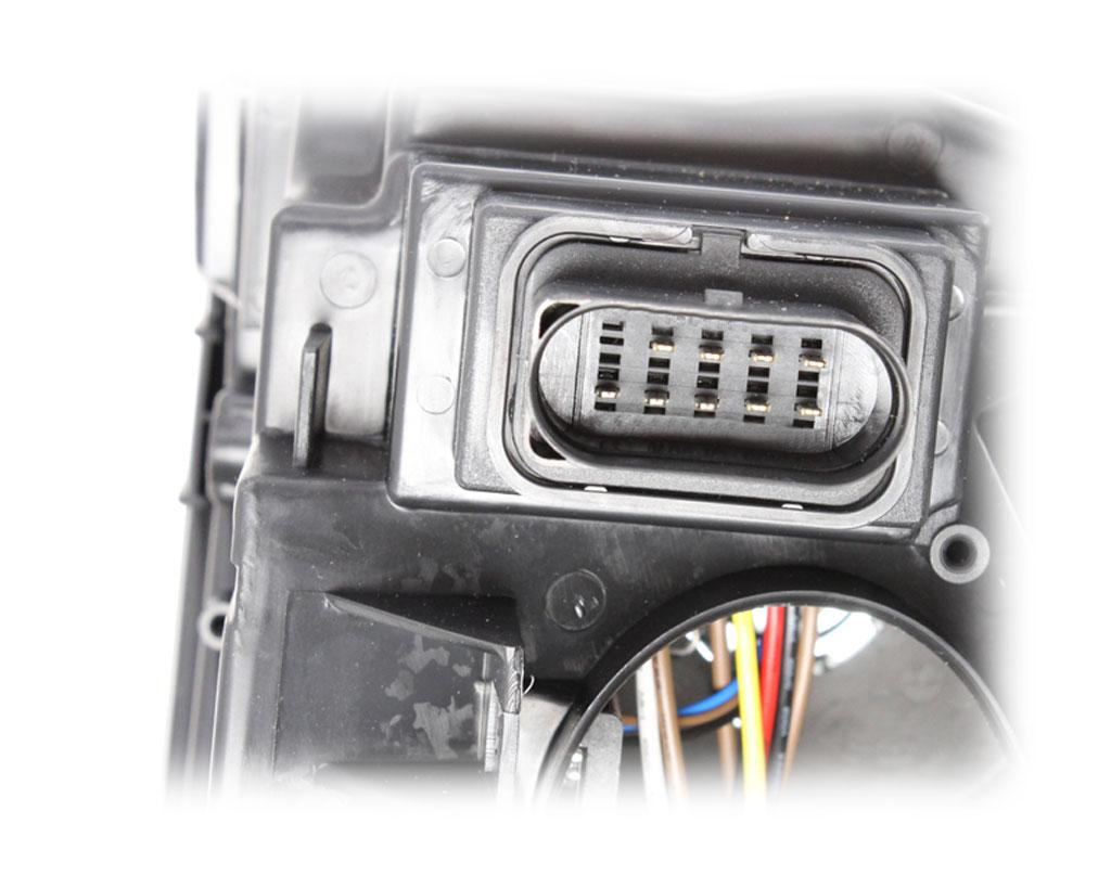 DEPO SCHEINWERFER H1//H7 MIT MOTOR LINKS FÜR VW 301195201 7H1941015 7H1941015C