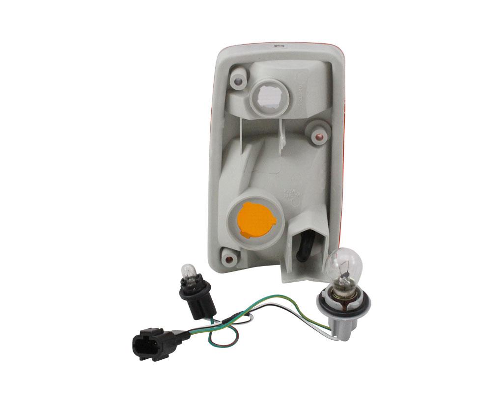 luz de estacionamiento blanco amarillo a la izquierda para b6125-0y000 b6125-oy000 Intermitentes m