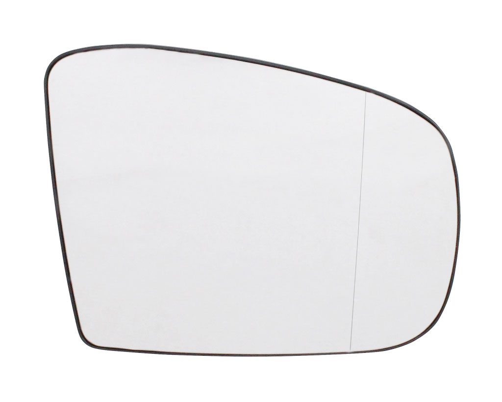 für MERCEDES M Klasse W163 Chrom Heizb Spiegelglas Links Asph