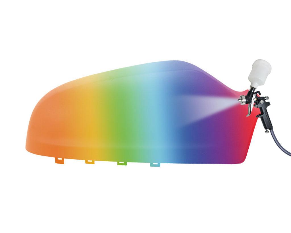 Pintada en color que deseas espejo capuchón derecho para Opel Astra H 04-09 para