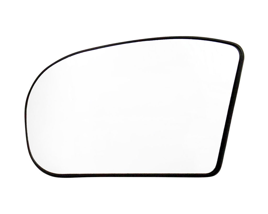 spiegelglas für MERCEDES E-Klasse W210 Limousine 00-02 links asphärisch spiegel
