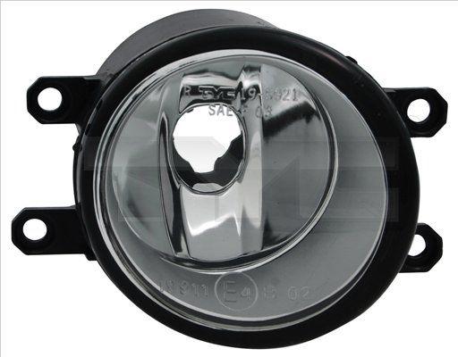 TYC anti-brouillard h11 gauche pour 3550257l00 3550257l01 8122006052